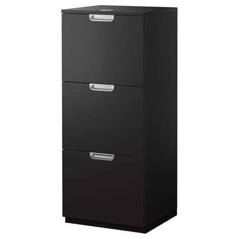 Ikea Galant File Cabinet Wont Open by Galant File Cabinet Black Brown 51x120 Cm Ikea