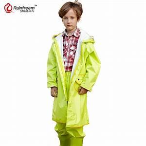 Rainfreem Impermeable Raincoat For Children Lovely Kids ...