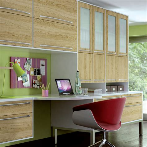 home office lissa oak fitted bedroom number  kitchens