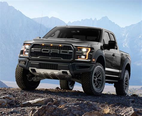 2017 Ford F-150 Raptor Pick-up Truck (black)