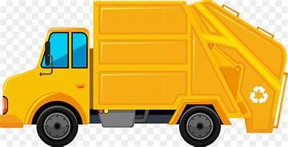 Garbage Truck Clipart Waste Rubbish Paper Bins