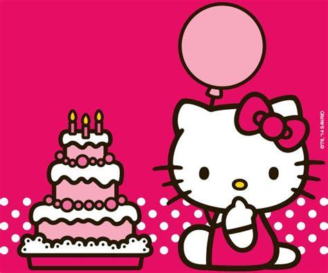 Hello Kitty Background Happy Birthday 10 » Background