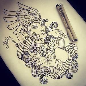 Symbole Mythologie Nordique : pingl par coralie brousseau sur tatoo ~ Melissatoandfro.com Idées de Décoration