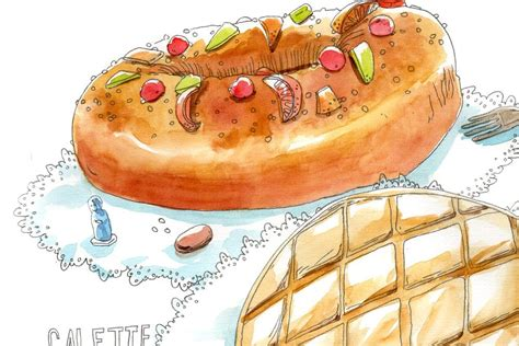dessins de cuisine de navas graphiste et illustratrice part 7