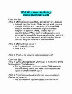 Bios 390 Week 2 Quiz Study Guide Question Set 1 1   Tco 3