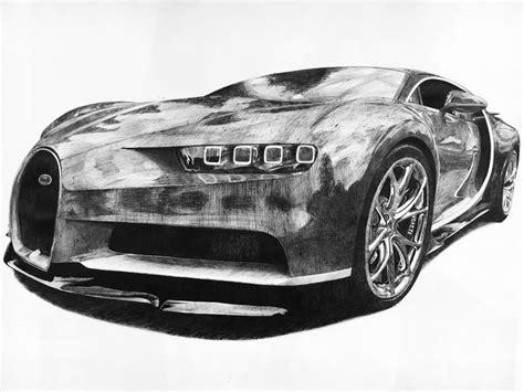 bugatti chiron biro drawing barkalist draw  drive