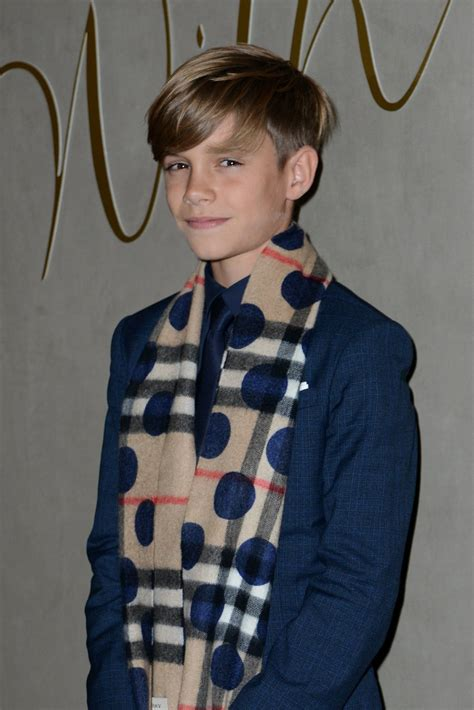 Beckham Boys Hairstyles by The Youngest Beckham Boys Look All Grown Up On The