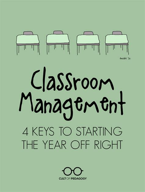 Classroom Management: 4 Keys to Starting the Year off