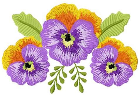 embroidery designs free violet flower free embroidery design free embroidery