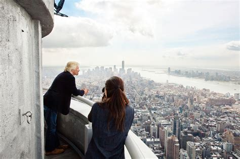empire state building 103rd floor 5 quotes about adventure from richard branson the most