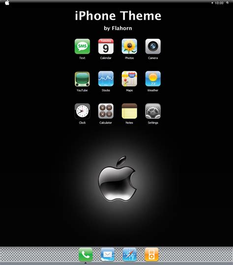 iphone theme xp by flahorn on deviantart