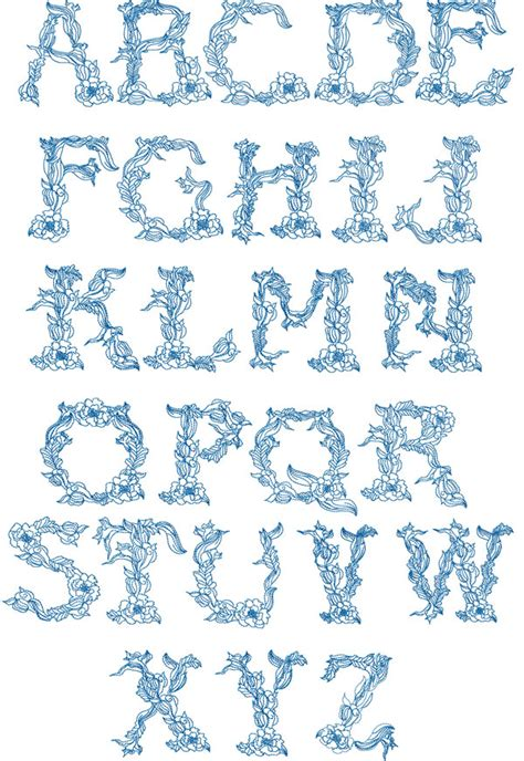 abc designs twine alphabet embroidery designs set  hoop  capitals  sizes ebay