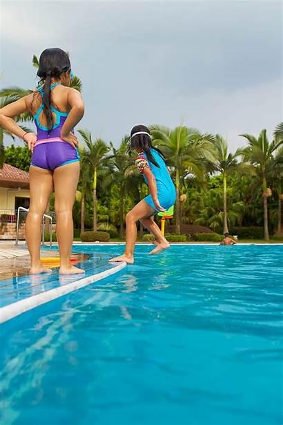 Pool Swimming Happy Stocksy Bo