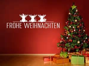 lustige baby sprüche wandtattoo weihnachten schrift mit elchen wandtattoo
