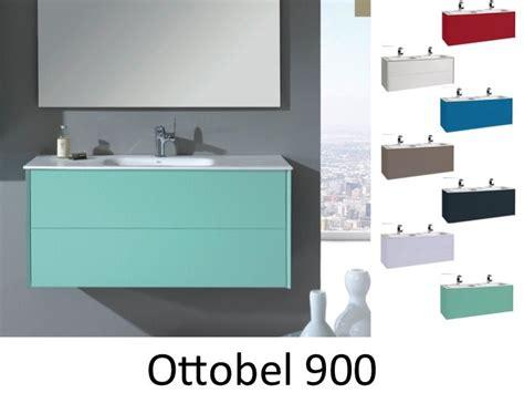meuble salle de bain colore meubles lave mains robinetteries meubles sdb meuble de salle de bain 90 cm ottobel 900