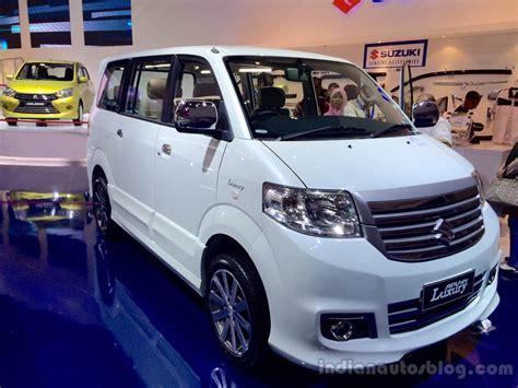 Suzuki Apv Luxury Picture by Suzuki Apv Luxury Mpv Launched Iims 2014 Live
