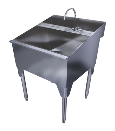 Stainless Steel Utility Sink With Legs by Ridalco Store Laundry Sinks