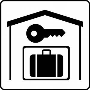 Hotel Icon Has Secure Storage In Room Clip Art at Clker ...