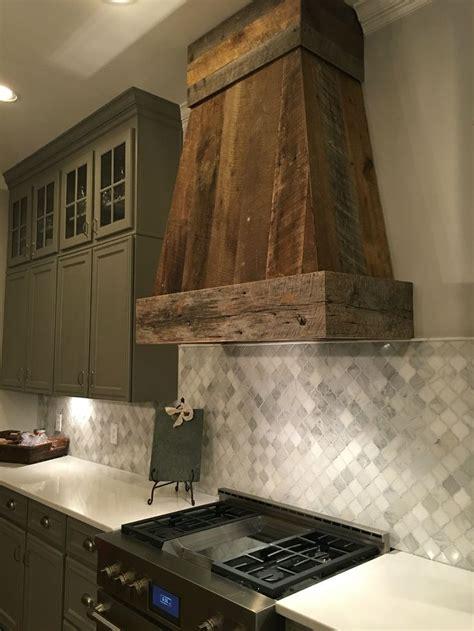 barnwood ventahood  anna berry design llc wwwannaberrydesigncom wood kitchen backsplash