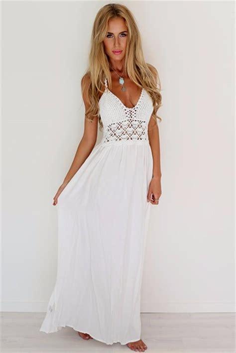 White summer dresses Naf Dresses