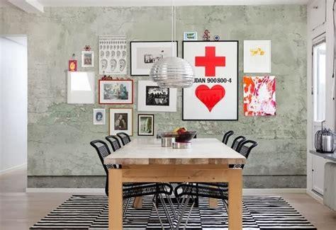 Ide Unik Dekorasi Wallpaper Dinding Artistik Rancangan