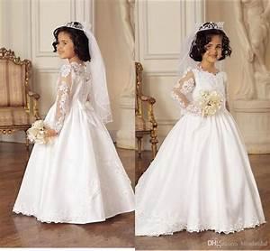 princess white wedding flower girl dresses 2016 winter With winter wedding flower girl dresses