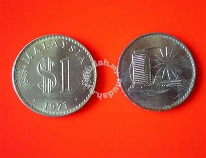 Malaysia Ringgit Coin Currency 1971