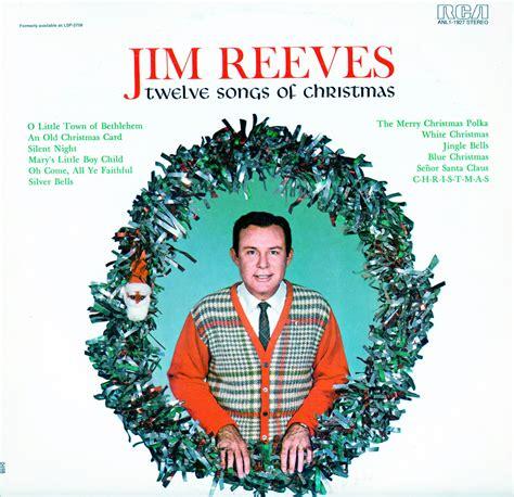 reeves jim twelve songs  christmas lpm lsp