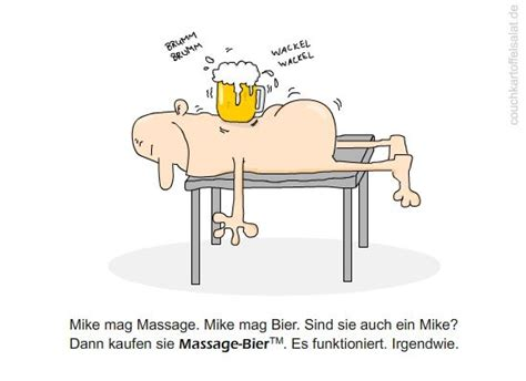 jokes fun mikes massage bier