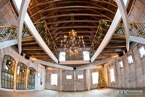 winter  hardy farm  maine wedding venue barn