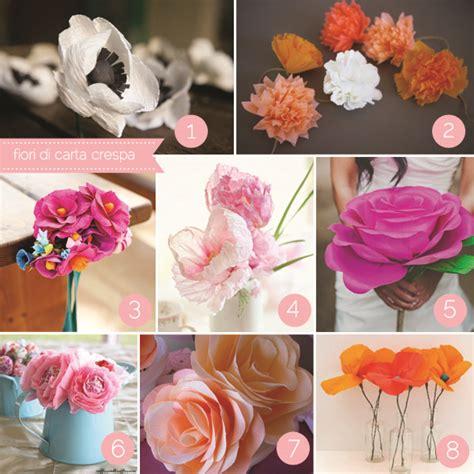 tutorial fiori di carta velina fiori di carta fai da te