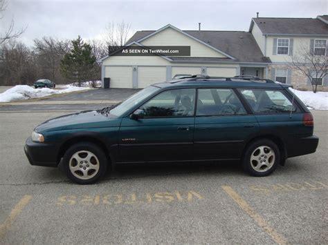 1999 Subaru Legacy Outback Limited Wagon 4  Door 2 5l
