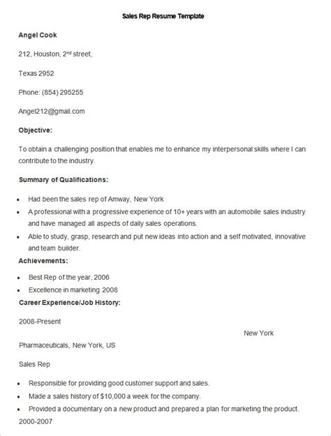 write your resume much easier with sales resume exles
