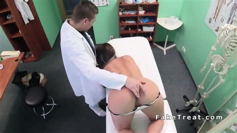 big booty and tits patient fucked in fake hospital eporner