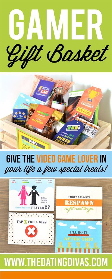 gift for gamer gamer gift basket the dating divas