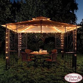 gazebo lights from big lots backyard ideas gazebo idea