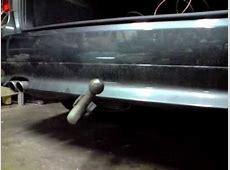 BMW E61 pivoting tow bar YouTube