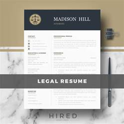 Attorney Resume Template Word by Resume Template For Ms Word Quot Quot Hired Design Studio
