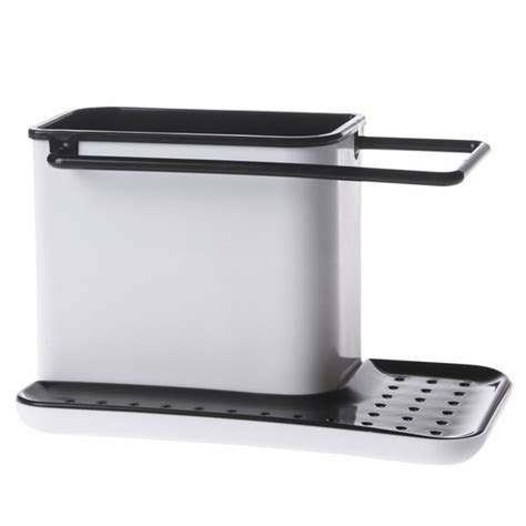 kitchen sink tidy storage plastic sink tidy cutlery holder caddy kitchen home sink 5991