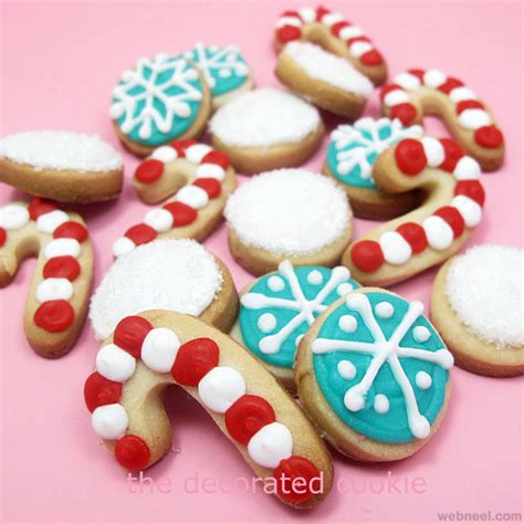 decorated holiday sugar cookies recipe dishmaps - Decorated Christmas Sugar Cookies