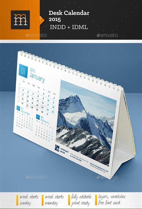 desk calendar template   psd ai indesign eps