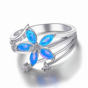wedding rings for women blue wedding rings for women With blue wedding ring