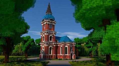 schelfkirche local church minecraft building