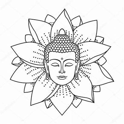 Buddha Lotus Head Tattoo Bouddha Boeddha Buda