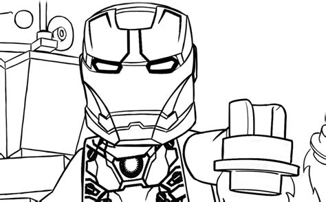 Lego Marvel Coloring Pages by Lego Marvel Coloring Pages