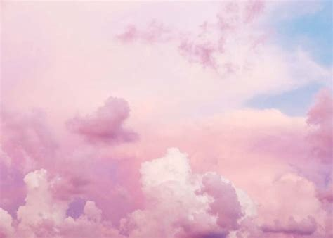 Pastel Pink Clouds Poster