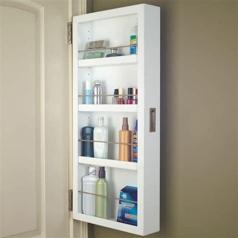 the door bathroom cabinet organizer back of the door cabinet the green