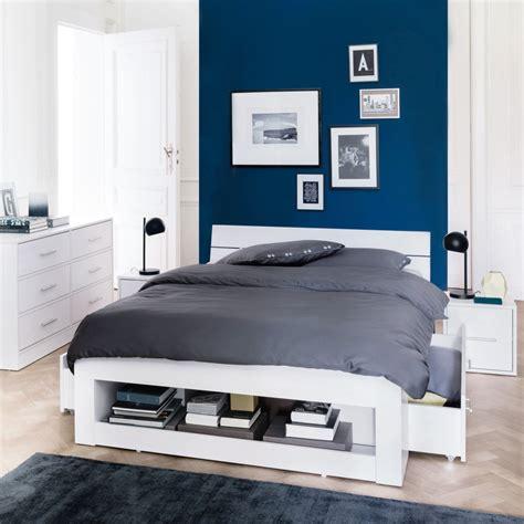 chambre peinte en bleu chambre grise et mauve