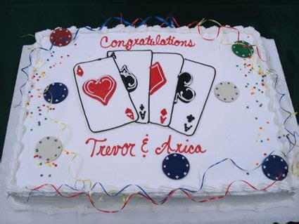 ideas  poker cake  pinterest vegas theme
