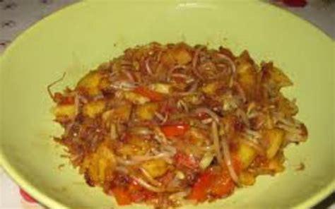 recette soja cuisine recette wok de pousses de soja ananas poivrons pas